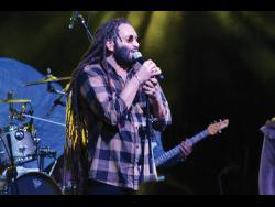 Italian reggae artiste Alborosie.