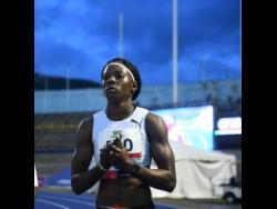 Shericka Jackson clocked personal best 10.91 in 100m heats.