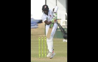 Trinidad and Tobago Red Force batsman Jason Mohammed.