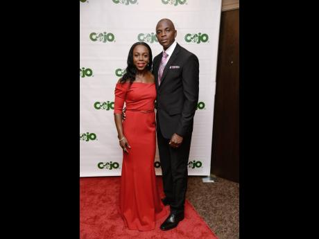 Veronica Campbell-Brown and husband Omar Brown