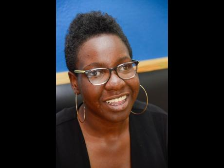 University of the West Indies student Jenise Reece is looking to complete her degree, despite living with cerebral palsy.