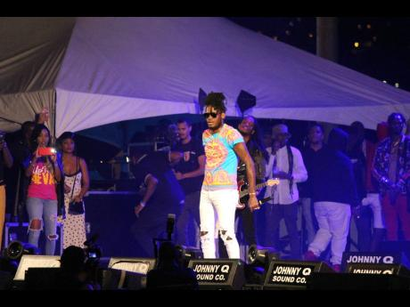 Aidonia closes the curtain on Magnum Xplosion.