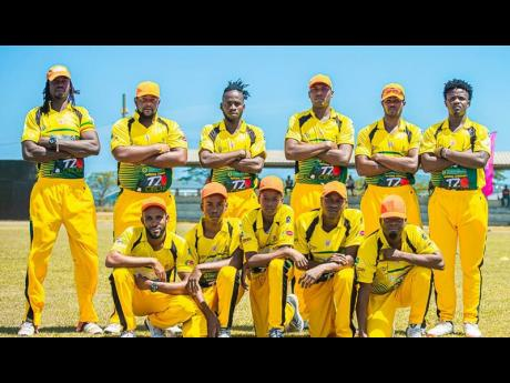 Orange Hill cricket team.