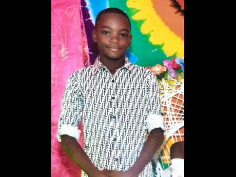 11-year-old Ricardo Johnson, a student of Mico Practising Primary and Junior High School.