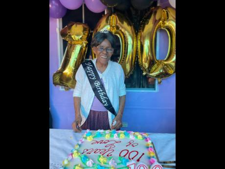 Icilda McCootie is 100 years young.